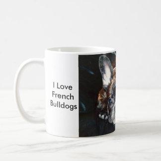 Mug J'aime les bouledogues français