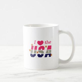 Mug J'aime les Etats-Unis