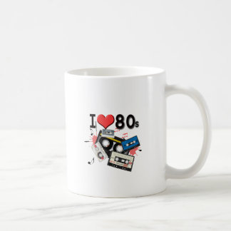 Mug J'aime les produits multiples des années 80