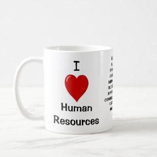 Mug J'aime les ressources humaines - le triple a
