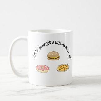 Mug J'aime maintenir un régime total