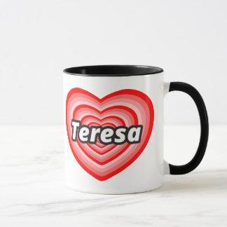 Mug J'aime Mère Teresa