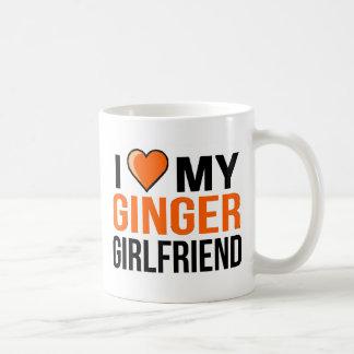 Mug J'aime mon amie de gingembre