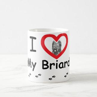 Mug J'aime mon Briard