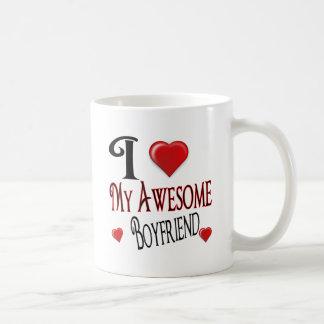 Mug J'aime mon cadeau populaire d'ami