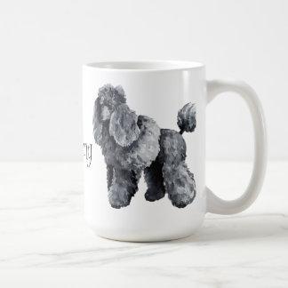 Mug J'aime mon caniche miniature