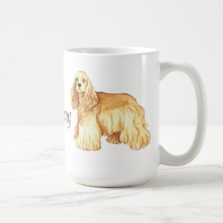 Mug J'aime mon cocker