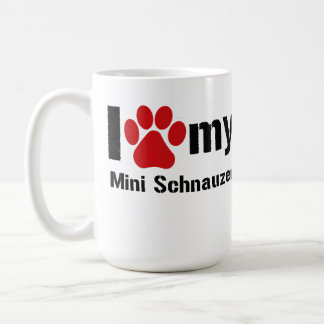 Mug J'aime mon mini Schnauzer