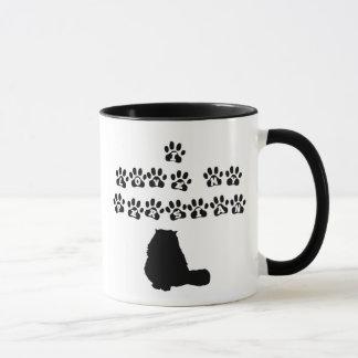 Mug J'aime mon persan--Texte noir