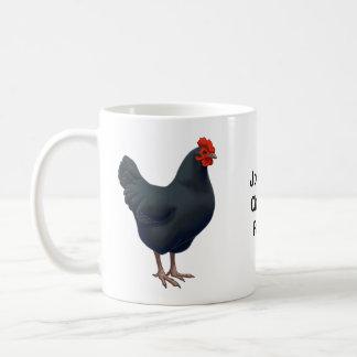 Mug J'aime mon poulet d'Australorp