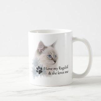Mug J'aime mon ragdoll