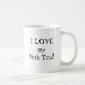 Mug J'AIME mon Shih Tzu !