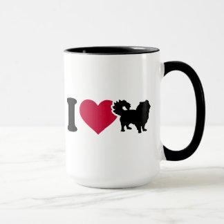 Mug J'aime pekingese