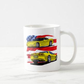 Mug Jaune 1998-04 de Corvette