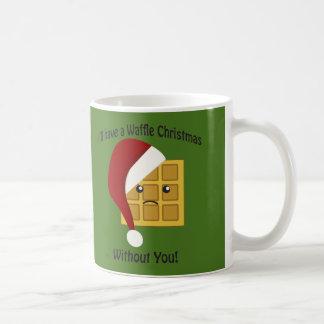 Mug J'aurai Noël de gaufre sans vous