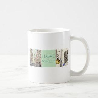 """Mug """"Je bannière de photo aime Annecy"""""""