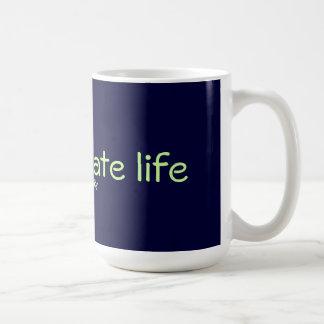 Mug Je complique la vie avec la simplicité