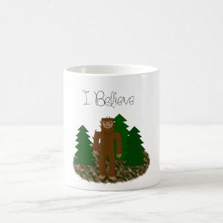 Mug Je crois - Bigfoot