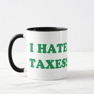 Mug Je déteste des impôts