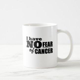 Mug Je n'ai aucune crainte de Cancer