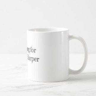 Mug Je ne vote pas pour Stephen Harper