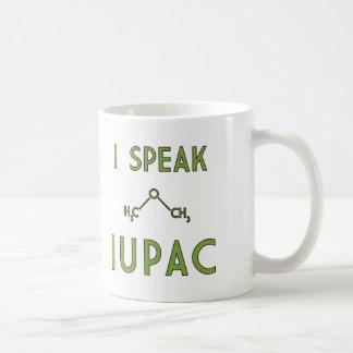 Mug Je parle IUPAC