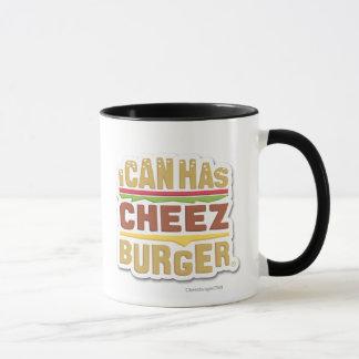 Mug Je peux a Cheezburger (l'ombre)