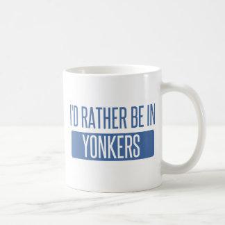 Mug Je serais plutôt dans Yonkers