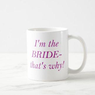 Mug Je suis la JEUNE MARIÉE
