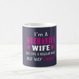 Mug Je suis l'épouse d'un mécanicien