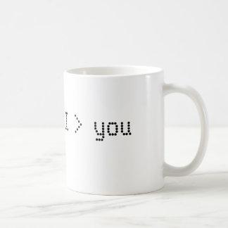 Mug Je suis plus grand que vous