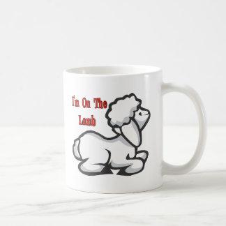 Mug Je suis sur l'agneau