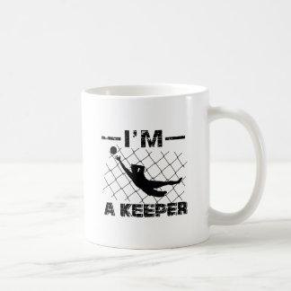 Mug Je suis un gardien - conceptions de gardien de but