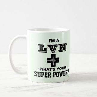 Mug Je suis un LVN ce qui est votre super pouvoir