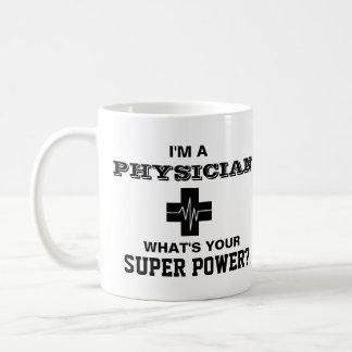 Mug Je suis un médecin ce qui est votre super pouvoir