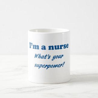Mug Je suis une infirmière ce qui est votre cadeau de