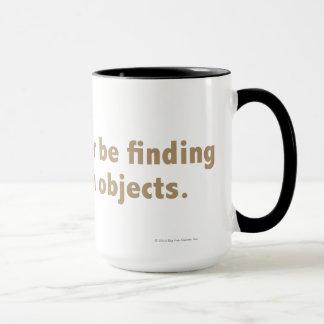 Mug Je trouverais plutôt les objets cachés. Or