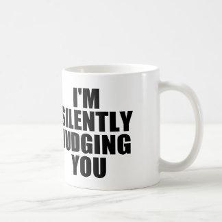 Mug Je VOUS JUGE SILENCIEUSEMENT