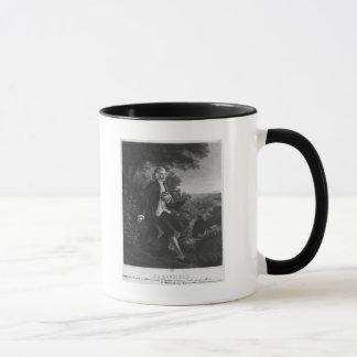 Mug Jean-Jacques Rousseau composant 'Emile