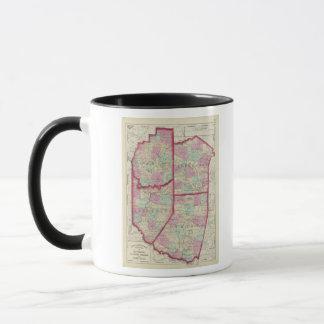 Mug Jefferson, clairon, Indiana, comtés d'Armstrong