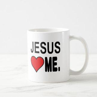 Mug Jésus m'aime des cadeaux de Jésus