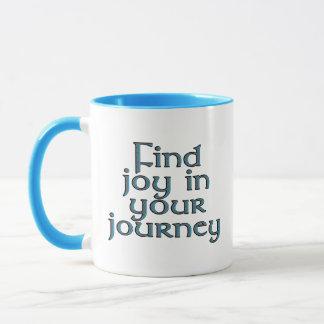 Mug Joie de découverte dans votre voyage