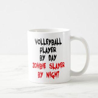 Mug Joueur de volleyball de tueur de zombi
