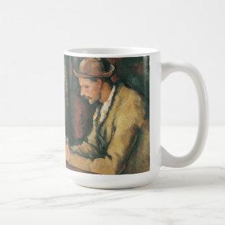 Mug Joueurs de carte par Paul Cezanne, beaux-arts