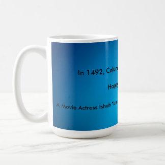 Mug Jour de Columbus heureux !