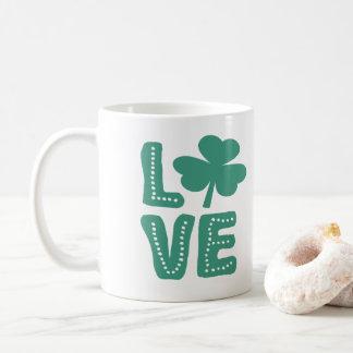 Mug Jour de la Saint Patrick irlandais d'amour de