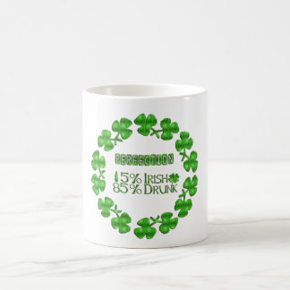 Mug Jour de la Saint Patrick vert chanceux de