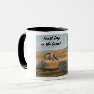 Mug Jour de la terre dans le désert