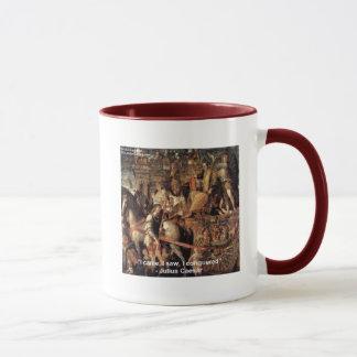 """Mug Jules César """"j'ai conquis"""" les cadeaux et le tee -"""