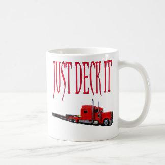 Mug Juste plate-forme il